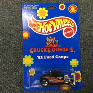 Hot Wheels Chuck E Cheese 32 Ford Special Edition. Box 3