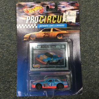 Hot Wheels Pro Circuit Richard Petty Nascar. Box 3