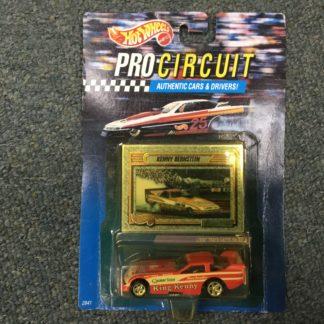 Hot Wheels Pro Circuit Kenny Bernstein Funny Car. Box 3
