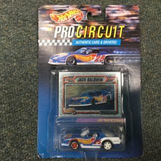 Hot Wheels Pro Circuit Jack Baldwin Camaro. Box 3