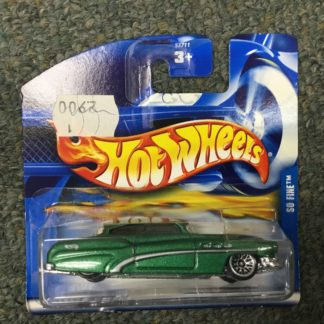 Hot Wheels European Card So Fine Green. Box 4