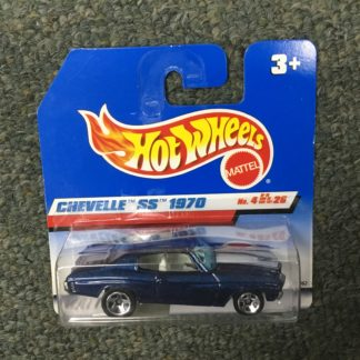 Hot Wheels European Card 1970 Chevelle SS. Box 4