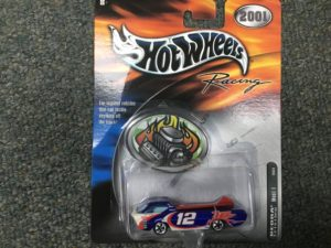 Hot Wheels Racing 2001 DEORA #12 Jeremy Mayfield Mobil 1 Box 4.