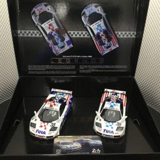 Scalextric C4012A McLaren F1 GTR FINA Twin Pack 1/32 Slot Car.