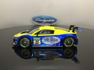 Carrera 30851 D132 Audi R8 LMS Twin Busch. 1/32 Slot Car.