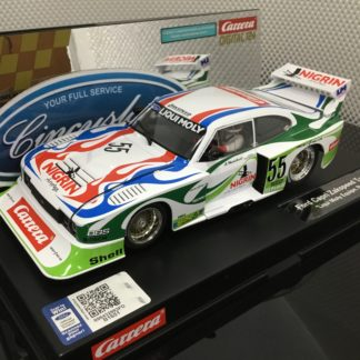Carrera D124 23869 Ford Capri Zakspeed Turbo Liqui Moly #55.