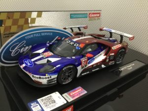 Carrera D124 23875 Ford GT #67 1/24 Scale.