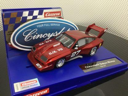 Carrera D132 30905 Chevrolet Dekon Monza #27 1/32 Scale Slot Car.