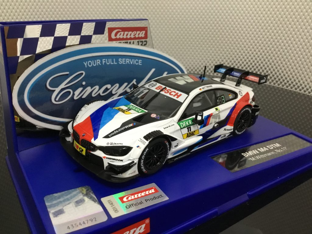 Carrera D132 30881 BMW M4 DTM Wittmann #11 1/32 Scale Slot Car.