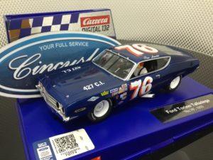 Carrera D132 30907 Ford Torino Talladega Arnold #77 1/32 Scale Slot Car.