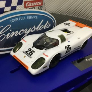Carrera D132 30888 Porsche 917k #26 1/32 Scale Slot Car.
