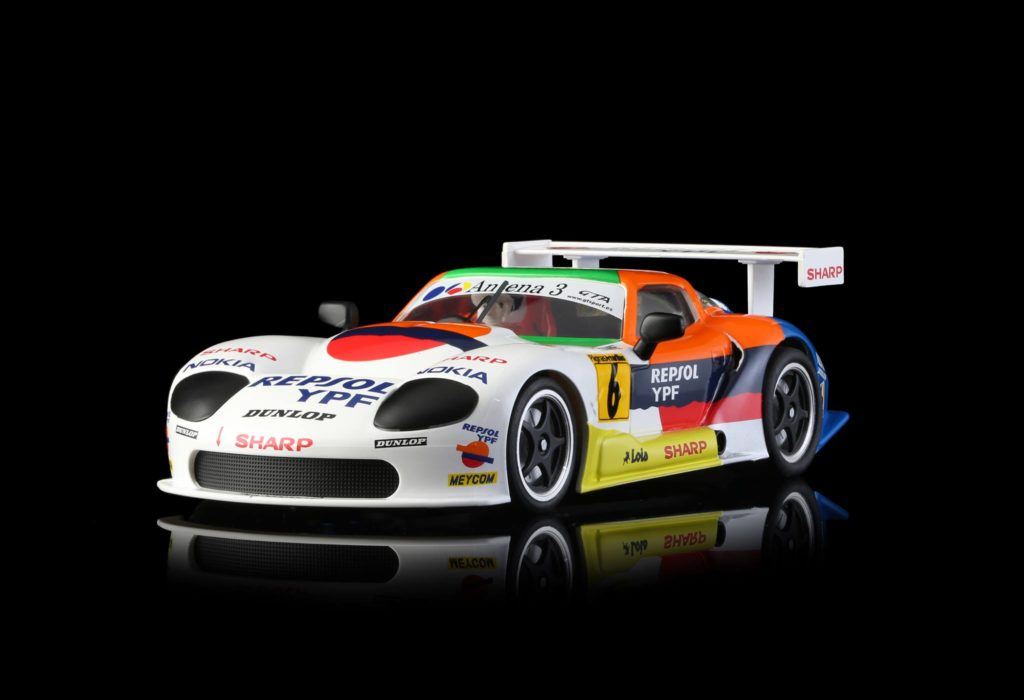RevoSlot RS0033 Marcos LM600 GT2 No.6 Repsol. 1/32 scale slot car.
