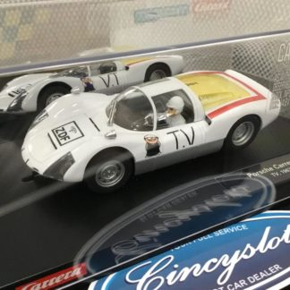 Carrera 23874 D124 Porsche Carrera 6 TV 1/24 Slot Car.
