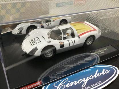 Carrera 23874 D124 Porsche Carrera 6 TV 1/24 Slot Car.