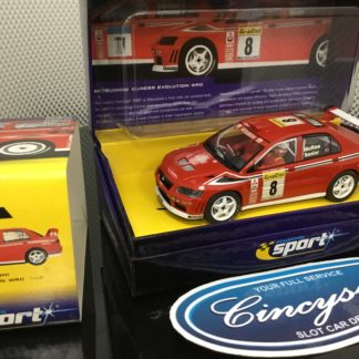 Scalextric C2364A Lancer EVO #8 USED.