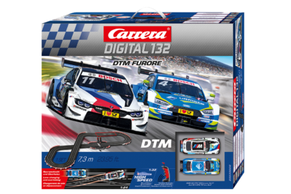 Carrera D132 30008 DTM Furore Digital Slot Car Set.