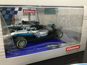 Carrera D132 30841 Mercedes F1 Bottas #77.