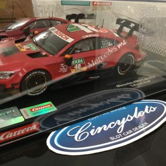 Carrera D124 23882 Mercedes AMG C 63 DTM #48 Slot Car.
