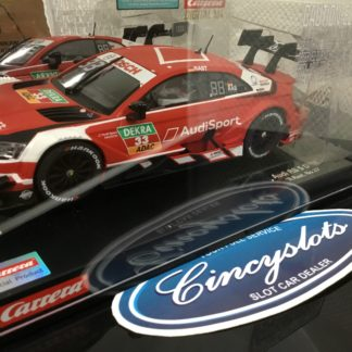 Carrera D124 23883 Audi RS 5 DTM Rast #33 Slot Car.