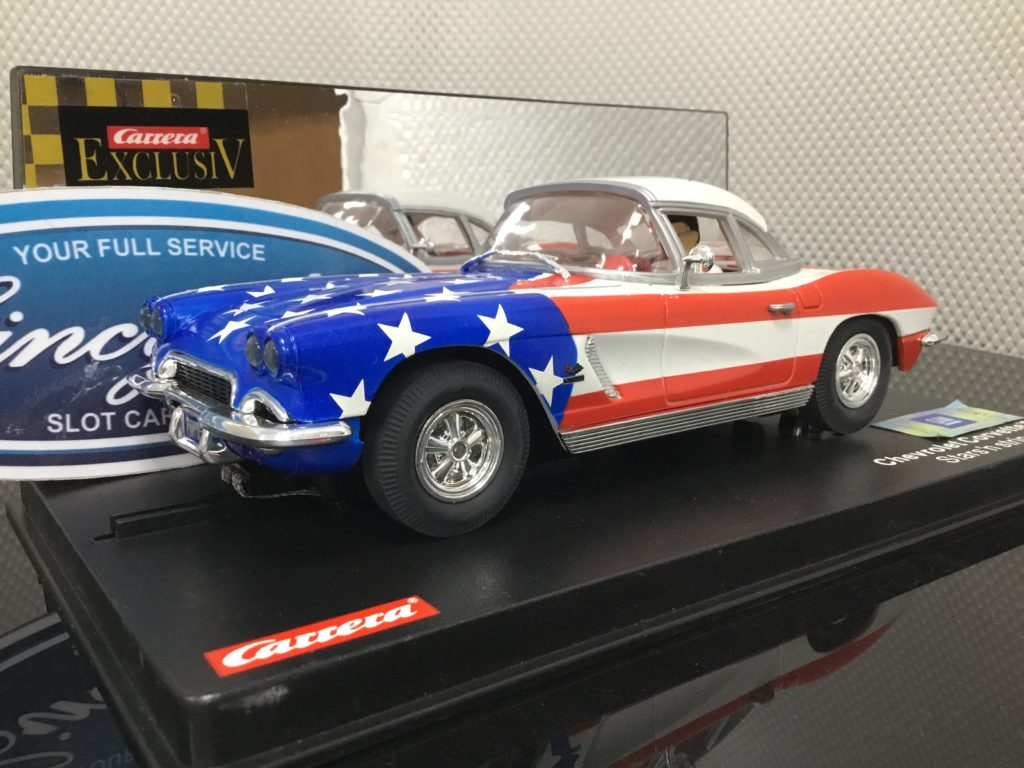 Carrera Exclusiv 20430 Chevrolet Corvette 1962 Stars and Stripes.