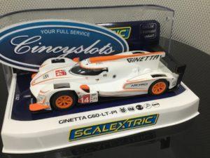 Scalextric C4061 Ginetta G60 LT P1 1/32 Slot Car