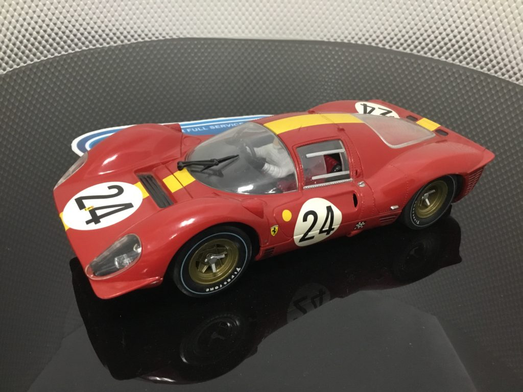 Carrera Exclusiv 20206 Ferrari 330 P4 #24, Lightly Used.