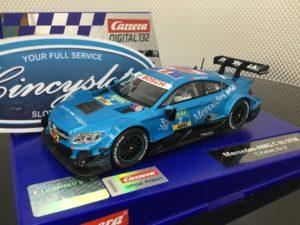 Carrera D132 30885 Mercedes AMG DTM Paffett 1/32 slot car.