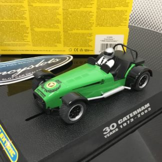 Scalextric C2589 30 Years Caterham. Lightly Used.