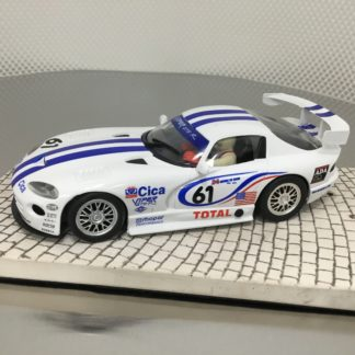 Fly Viper White with Blue Stripes USED