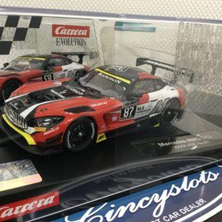 Carrera Evolution 27578 Mercedes AMG GT3 1/32 Slot Car.
