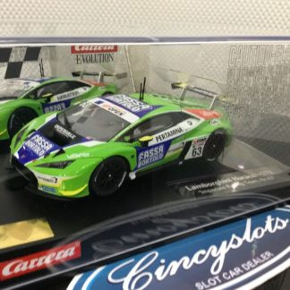 Carrera Evolution 27589 Lamborghini Huracan GT3 1/32 Slot Car.