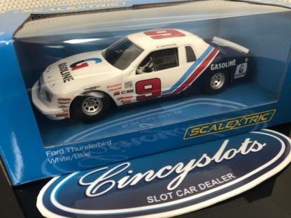 Scalextric C4035 Ford Thunderbird Gasoline #9 Stock Car. 1/32 Slot Car.