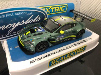 Scalextric C4036 Aston Martin Vantage GT3 #007. 1/32 Slot Car.