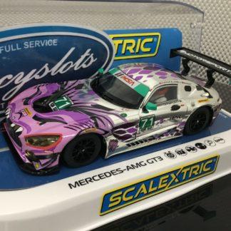 Scalextric C4044 Mercedes AMG GT3 Daytona #71.