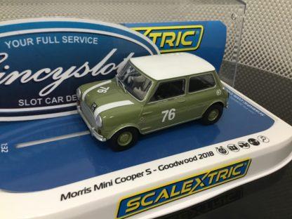 Scalextric C4059 Mini Cooper.