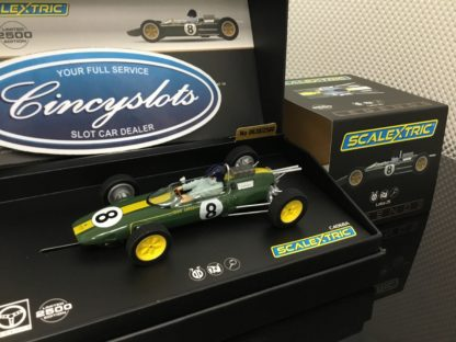 Scalextric C4068A Jim Clark Lotus 25 Limited Edition.