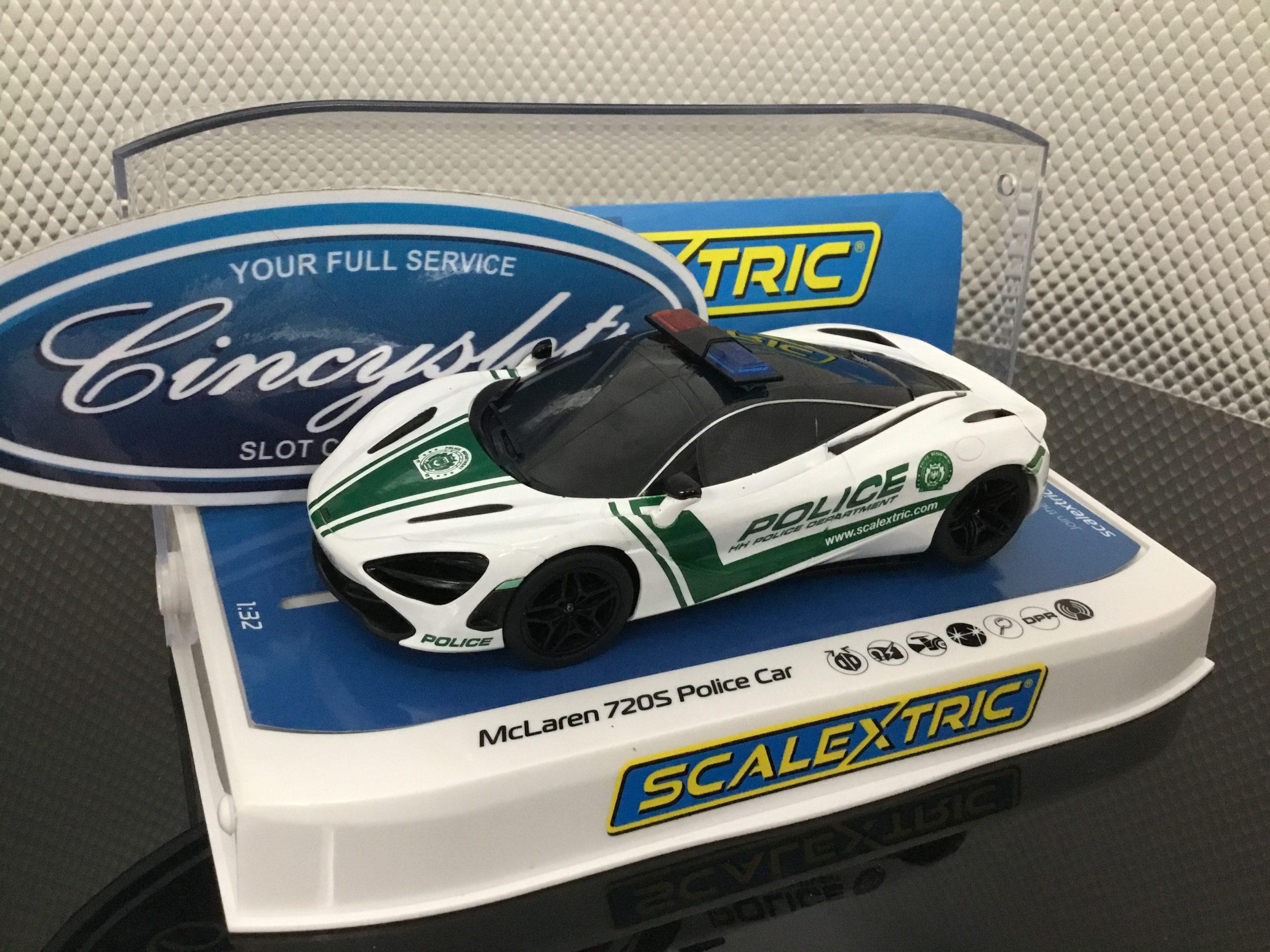 Scalextric C4056 McLaren 720s Police Car.