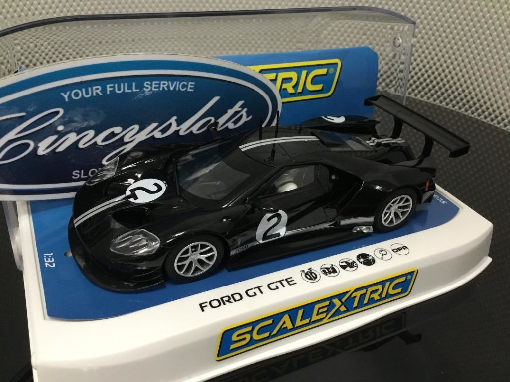 Scalextric C4063 Ford GTE Heritage Edition.