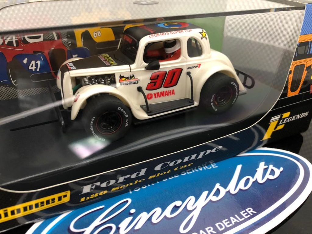 Pioneer P081 Ford Coupe Legends Slot Car.
