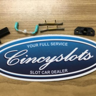 Carrera D124 Mercedes SLS AMG GT3 Mirrors Light Blue and Spares.