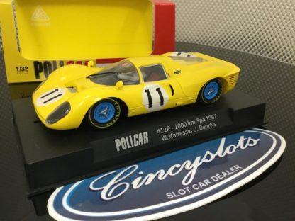 Policar CAR06b Ferrari 330 P4 #11 Spa 1/32 Slot Car.