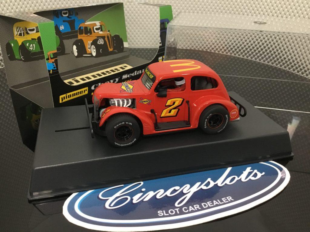 Pioneer P067 Legends Sunoco Mc Donalds Red #2. 1/32 Slot Car.