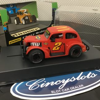 Pioneer P067 Legends Sunoco Mc Donalds Red #2. 1/32 Slot Car.