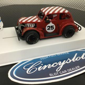 Pioneer P080 Santa Claus Christmas Legends Red #25. 1/32 Slot Car.