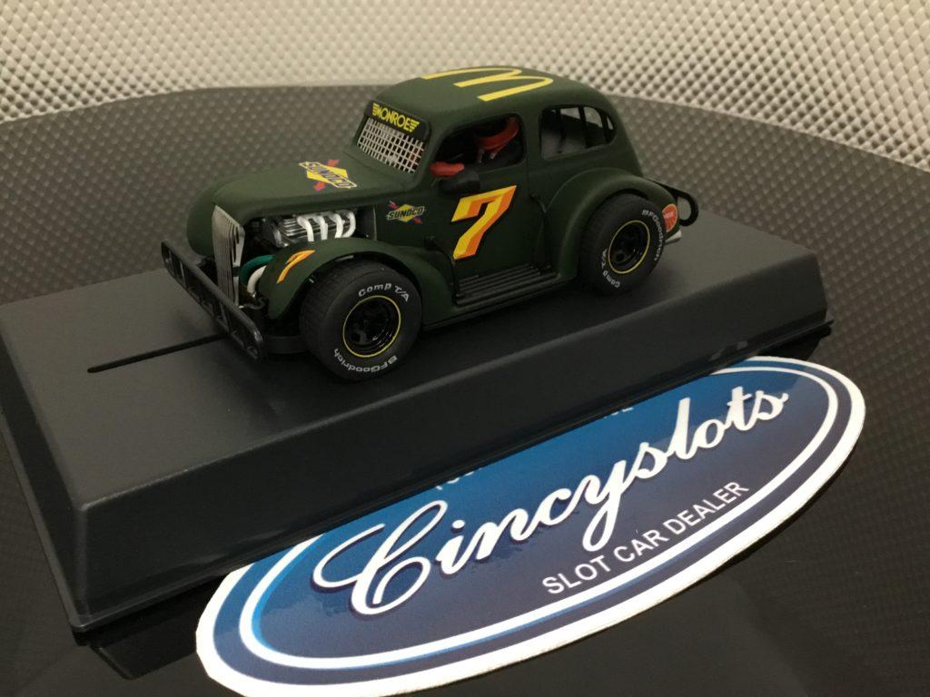 Pioneer P078 Legends Sunoco Mc Donalds Green #7. 1/32 Slot Car.