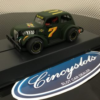 Pioneer P078 Legends Sunoco Mc Donalds Green #7. 1/32 Slot Car.