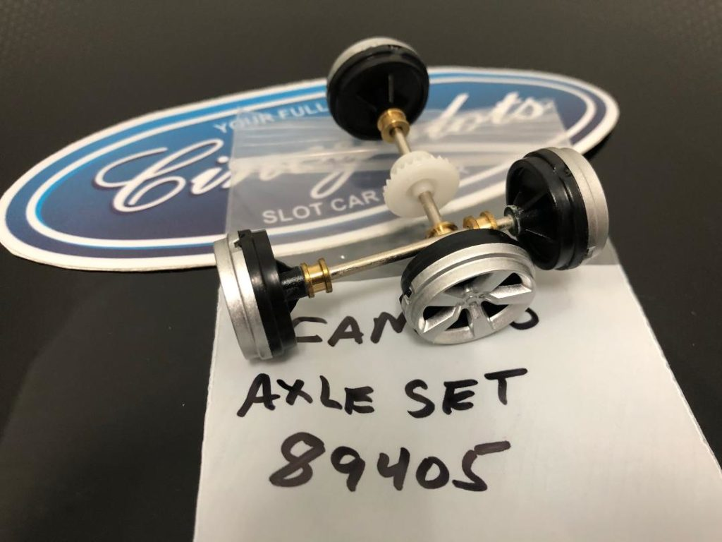 Carrera 89405 2010 Chevrolet Camaro Axle Set NEW TAKEOFF.