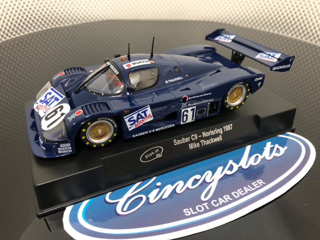 Slot.it CA06i Mercedes Sauber C9 1987 1/32 Slot Car.