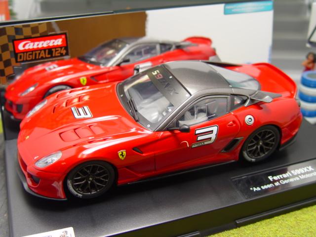 Carrera D124 23756 Ferrari 599XX. Used. VERY GOOD TO MINT.