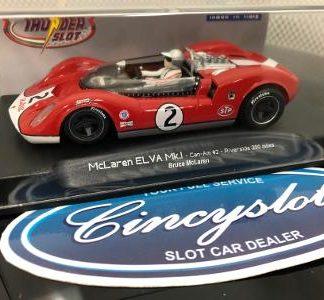 ThunderSlot CA00402SW McLaren ELVA Mk.I Can Am 1/32 Slot Car.